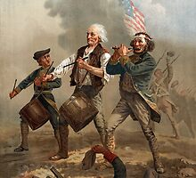 The Spirit of '76 aka Yankee Doodle by Archibald Willard (c 1876) by allhistory