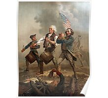 The Spirit of '76 aka Yankee Doodle by Archibald Willard (c 1876) Poster