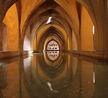 Real Alcazar, Seville, Spain * by Justin Mitchell