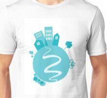City on the globe Unisex T-Shirt