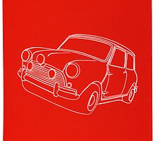 Red Cooper Linoprint (2012) by Richard Yeomans