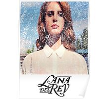 Lana Del Ray Weathered 2 Poster