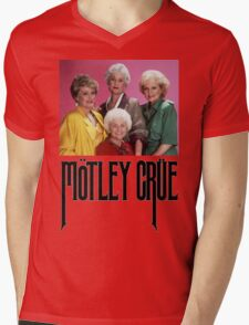 Golden Girls Girls Girls Metal Tee Mens V-Neck T-Shirt