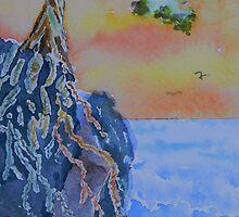 Forgotten Cliff by Warren  Thompson