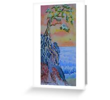 Forgotten Cliff Greeting Card