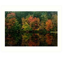 Rhode Island Foliage Art Print