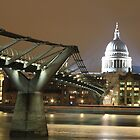 Millenium Bridge, London, England, UK * by Justin Mitchell