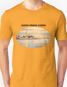 Sponge Docks At Tarpon Springs Florida T-Shirt