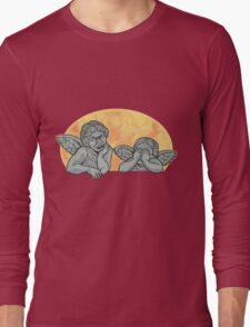 Weeping Cherubs Long Sleeve T-Shirt