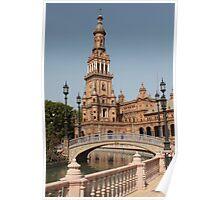 Plaza de España, Seville, Spain Poster