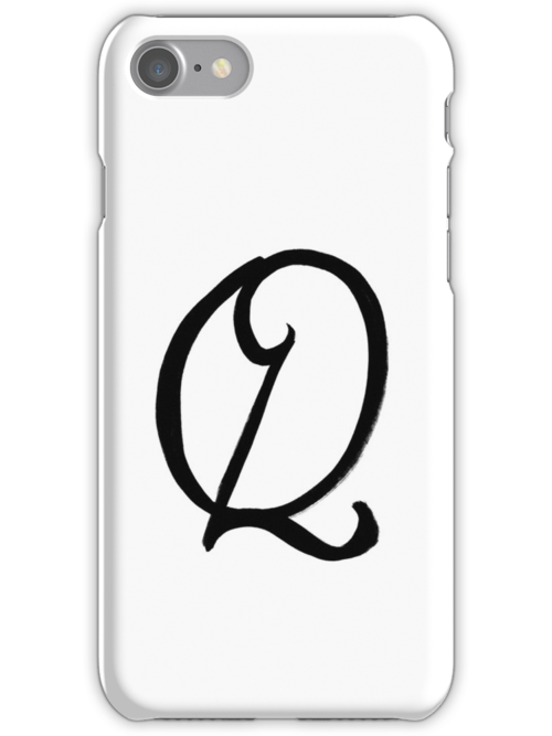The Letter Q by alphabeautiful