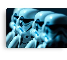 Lego Storm Troopers Canvas Print