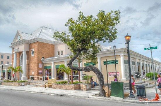 Straw Market on Bay Street in Nassau, The Bahamas by Jeremy Lavender Photography