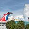 Cruise Ship at the Prince George Wharf Port in Downton Nassau, The Bahamas by 242Digital