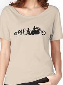 Motorcycle Evolution Women's Relaxed Fit T-Shirt