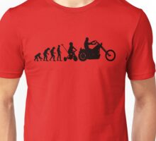 Motorcycle Evolution Unisex T-Shirt
