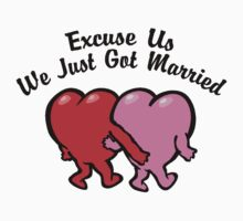 Funny Just Married by FamilyT-Shirts