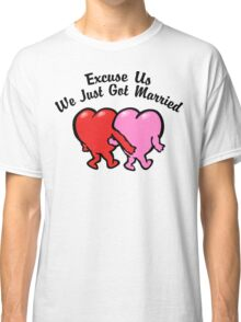 Funny Just Married Classic T-Shirt