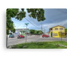 Mount Royal Avenue & Wulff Road in Nassau, The Bahamas Canvas Print