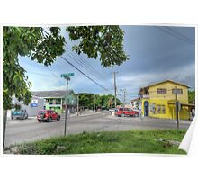 Mount Royal Avenue & Wulff Road in Nassau, The Bahamas Poster