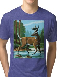 Deer Country Tri-blend T-Shirt