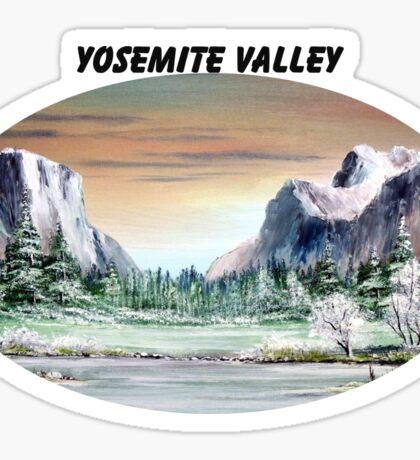 Yosemite Valley Artist Point Sticker