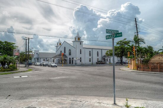 Montrose Avenue & Wulff Road in Nassau, The Bahamas by Jeremy Lavender Photography