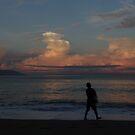 The Fisherman And The Ocean - El Pescador Y El Oceano by Bernhard Matejka