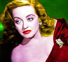 Bette Davis - All About Eve - Pop Art by wcsmack