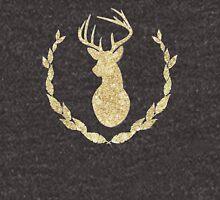 Glitter Deer Head Silhouette Unisex T-Shirt