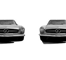MERCEDES BENZ 1970 280SL MUG by Thomas Barker-Detwiler