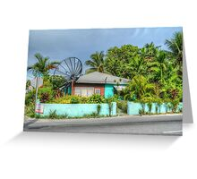 House on Mount Royal Avenue in Nassau, The Bahamas Greeting Card