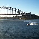 Sydney Bridge by RachelBobby