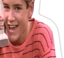 Saved By Zack Morris Sticker