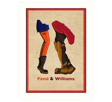 Pond & Williams Art Print