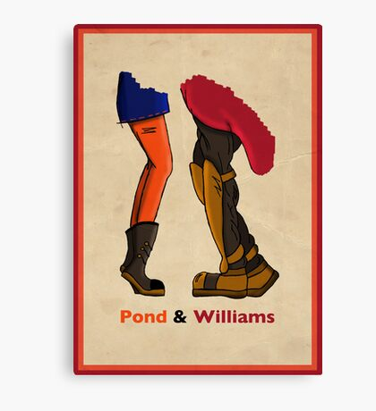 Pond & Williams Canvas Print
