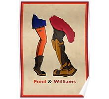 Pond & Williams Poster