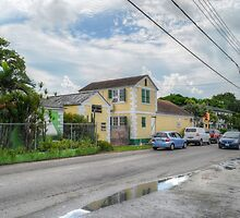 Mount Royal Avenue & Rosetta Street in Nassau, The Bahamas by Jeremy Lavender Photography
