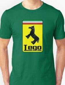 The Lego Ferrari Logo Unisex T-Shirt