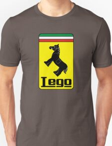 The Lego Ferrari Logo T-Shirt