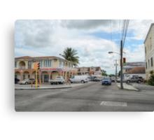 Mount Royal Avenue in Nassau, The Bahamas Canvas Print