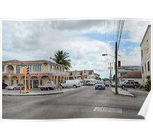 Mount Royal Avenue in Nassau, The Bahamas Poster