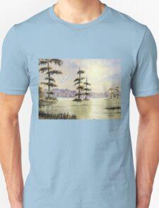Egrets Over Wakulla River Florida T-Shirt
