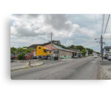 Mount Royal Avenue & Tenwich Street in Nassau, The Bahamas Canvas Print