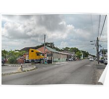 Mount Royal Avenue & Tenwich Street in Nassau, The Bahamas Poster