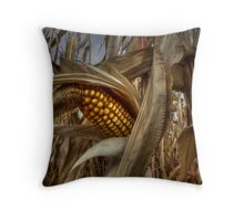 Thats A Bunch Of Corn! Throw Pillow
