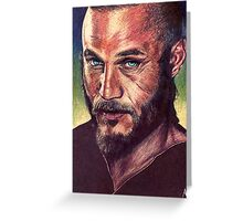 Ragnar Lothbrok Greeting Card