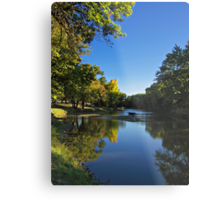 Splash of Fall Metal Print