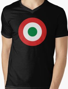 Italian Mod Mens V-Neck T-Shirt