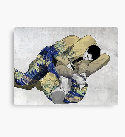 The Ground is my Ocean Canvas Print